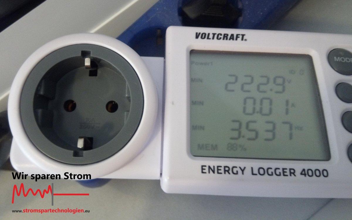 Strommessung Minimalwert